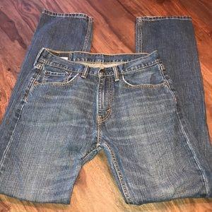 Levi's Jeans - Levi's 505 regular fit mens jeans stone wash 31/34